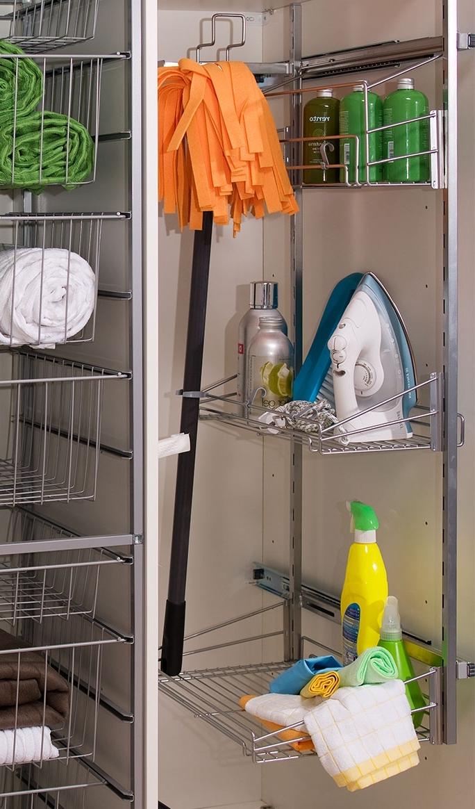 выдвижные металлические полки в шкаф купе