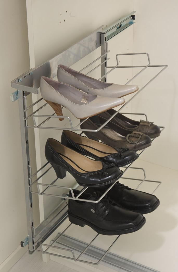 полка обувная в шкаф купе выдвижная