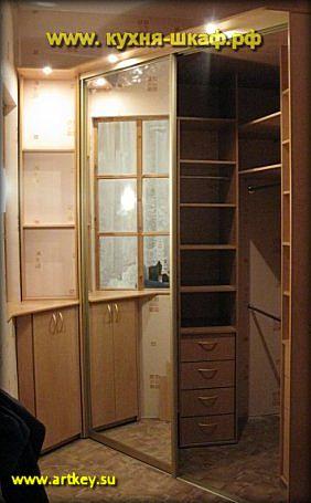 Встроенные шкафы купе от производителя